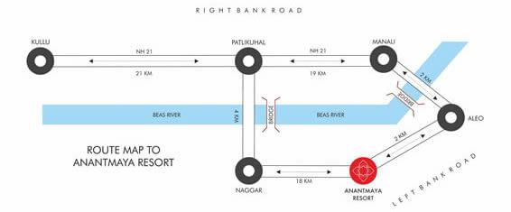 Anantmaya Map